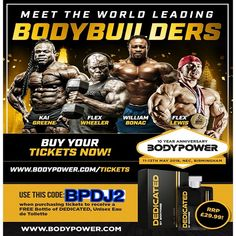 Bodypower Ambassador Promo Code BPDJ2 Bodypower Expo 2018 will be the biggest and greatest fitness expo ever and this this year will be the 10th anniversary of the show. To celebrate the bodypower team have made this year, Vegas themes and its will be a huge, fun packed and relentless 3 days of everything fitness.  Read More