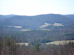 View from upper lookout.  Flagg Mtn MA 4/16/16