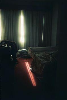 Living room scene lighting? The red light..something to consider???