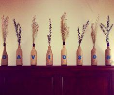Twined Wine Bottle Decor
