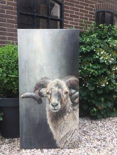 Paint this now - Kunst - Sheep Paintings, Animal Paintings, Cow Art, Horse Art, Cow Painting, Painting Canvas, Sheep Art, Farm Art, Wildlife Art