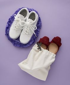 You never want the dirt or smell from your shoes to transfer to the clean clothes you packed. Keep dirty shoes from mucking things up by placing them in shoes bags or shower caps, which are available at most hotels. Click through for more packing tips and tricks for your next summer vacation.