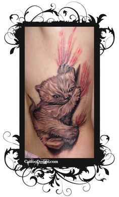Bad Kitty Tattoo