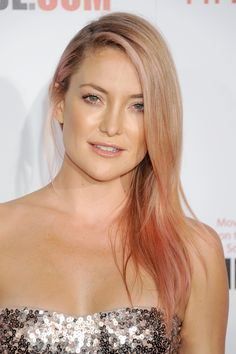 Kate Hudson working a cool rose hue