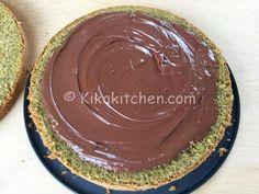torta al pistacchio con nutella