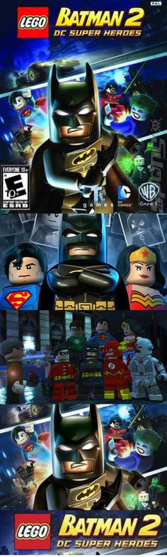 The lego batman movie game on the app store Lego Batman Movie, Superman, Lego App, Man Games, Green Man, Justice League, Ps3, Playstation, Xbox