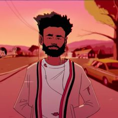 """Childish gambino's video for """"feels like summer"""" is a who's who of today's rap scene and black pop culture Childish Gambino Album Cover, Childish Gambino Quotes, Mtv, Vibes Tumblr, Vibe Video, Donald Glover, Freestyle, Feel Like, Cartoon Art"""
