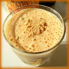Pumpkin Cheesecake High Protein Smoothie  ~ Another way to eat pumpkin, first thing in the morning? You betcha!    I thought I would give...
