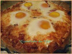 *O cantinho da Tila*: Folhado de bacon com ovos