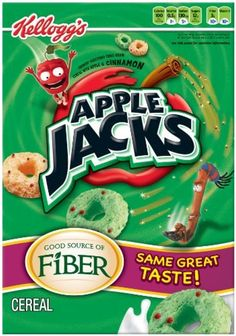 Apple Jacks Cereal, 21.7-Ounce Boxes (Pack of 2) by Apple Jacks -- Awesome products selected by Anna Churchill
