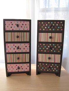 Chocolate and Strawberry Trinket Boxes
