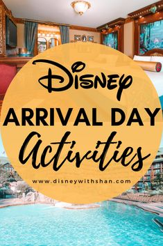 5 activities to do when you get to Disney World that don't include going into the theme parks! Enjoy a ride on the monorail, skyliner, or resort-hop! There's tons to do on your first day at Disney World! Disney World Vacation Planning, Disney World Florida, Orlando Vacation, Walt Disney World Vacations, Disney Planning, Disney Parks, Vacation Ideas, Disneyland Vacation, Disney Travel