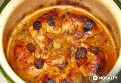Meat Recipes, Hungarian Recipes, Hummus, Poultry, Crockpot, Slow Cooker, Paleo, Chicken, Crock Pot