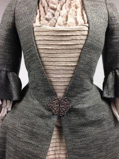 Geillis Duncan's Green Dress. | Costume designer TERRY DRESBACH | Outlander S1E4 'The Gathering' on Starz