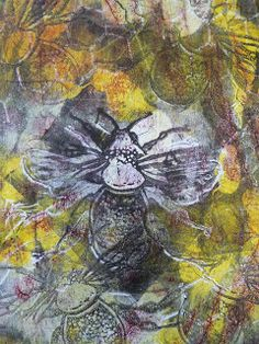 I've just wanted to share with you the results of a quick session of monoprinting using my gelli plate. I needed some pages to cover some b...