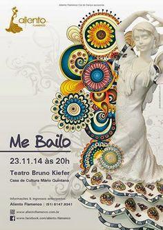 El Cajón Flamenco: Aliento Flamenco apresenta 'Me Bailo' em Porto Ale...