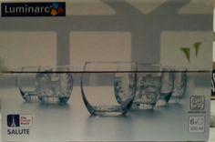 6drinking glasses
