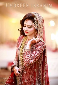 #AsMaLashariBaloch Pakistani Wedding Outfits, Bridal Outfits, Pakistani Dresses, Bridal Looks, Bridal Style, Pakistan Wedding, Bridal Pictures, Bridal Pics, Bridal Photoshoot