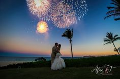 You can literally make sparks fly by adding fireworks to your reception #DreamsLosCabos #Mexico #Destinationwedding