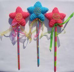 free crochet pattern star wand