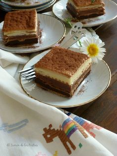 Tres Chocolates, Spanish Food, Dory, Tiramisu, Good Food, Food And Drink, Ethnic Recipes, Desserts, Cup Cakes