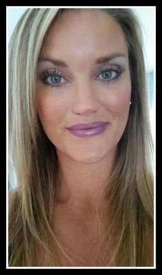 Do you LOVE purple? We have the look for you with our Younique colors! She's wearing the following products. EYES Splurge Cream Shadow - Dainty Eye Liner - Passionate 3D Mascara LIPS Lip Stain - Savvy  Eye Liner - Passionate Splurge Cream Shadow - Dainty  #mascara #purple #eyes #eyeliner #lipliner #lipstains #lips #mua #fashion