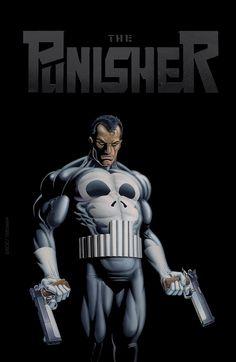 Punisher: Return To Big Nothing hardbound cover painting