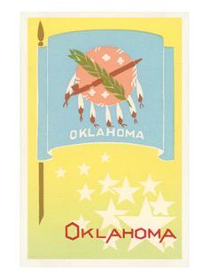 Flaggen / Flags - Oklahoma - Vereinigte Staaten von Amerika / United States of America / USA