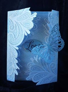 Such a lovely card created with new 3D embossing folders from #crafterscompanion !