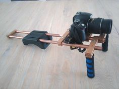 DIY shoulder rig for DSLR