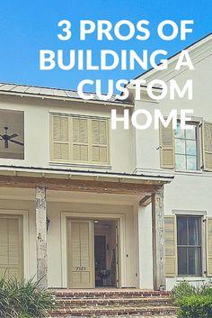 Why build custom? https://lynchconstructiongroup.com/3-pros-of-building-a-custom-home/