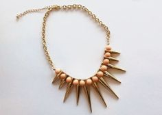 Spiked Beaded Necklace | Girly Accessories
