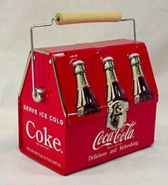 COCA-COLA REPLICA VINTAGE EMPTIES CARRIER TIN BOX