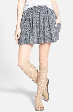 Free People 'So Much Sun' Skirt available at #Nordstrom