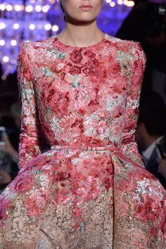 #Elie Saab Haute Couture Fall 2014 #Details