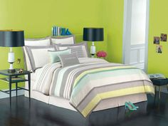 Kate Spade New York Candy Shop stripe bedding