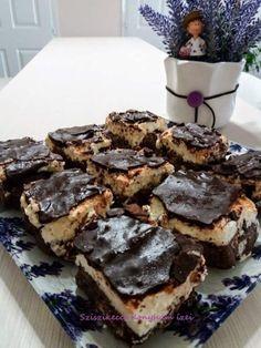Túrós- mascarpones szelet sütés nélkül – Sziszikeccs – Konyhám ízei Street Food, Cookies, Baking, Mascarpone, Kuchen, Crack Crackers, Biscuits, Bakken, Cookie Recipes