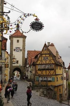 Hotel Goldener Hirsch, Rothenburg ob der Tauber. Found on Tripadvisor, courtesy of Viajeci2 #RothenburgobderTauber