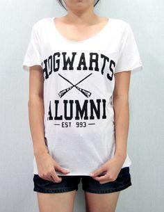 Hogwarts Alumni Shirt Harry Potter Shirt TShirt by MonkeyzTShirt