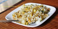 FLAVOURS UNLIMITED .......Eat Well To Stay Well: Sabudana Khichdi
