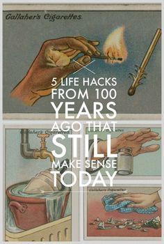 5 Life Hacks from a Century Ago That Still Make Sense Today | eBay