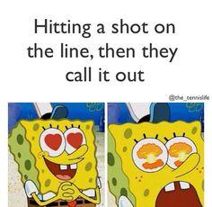 Funny tennis meme