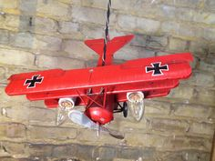 Dive bombing Red Baron plane becomes a light: