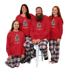 Long Sleeve Pajamas for the whole family! Personalized with a custom photo and a first name or last for a fun set of pajamas. #matchingchristmaspajamas #christmaspajamas #familychristmaspajamas #polarexpresspajamas #christmas #holidaypajamas #christmasgift #christmasphotoideas #pajamas #personalizedpajamas #christmas2020 #christmas #pressed4fun #p4f #fununiquecute #holidaypartyoutfit #holidaygift #holidaypartyideas #holidayparty Christmas Eve Outfit, Photo Christmas Tree, Holiday Party Outfit, Christmas Eve Box, Christmas Tree Design, Christmas Parties, Matching Christmas Pajamas, Family Christmas Pajamas, Holiday Pajamas
