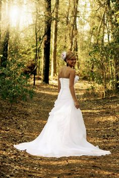 Outdoor bridal portraits; Beautiful wooded back drop: Bridal portraits by:  Moore Memories photography