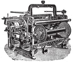 JAN 18, 1785 Power Loom  Edmund Cartwright invented the power loom, an invention that combined threads to make cloth.