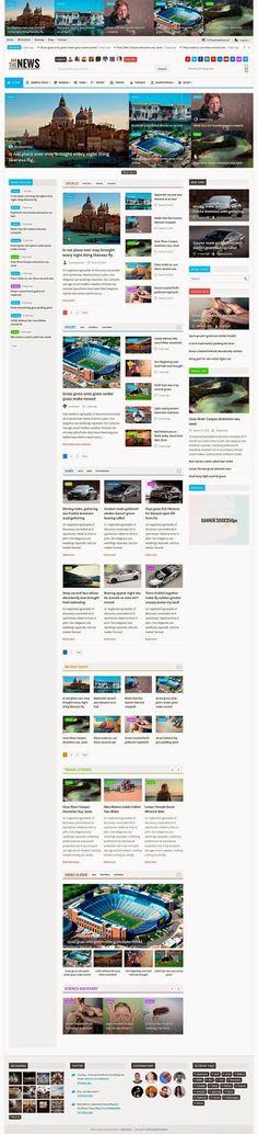 EliteNews is fresh and new responsive #Magazine #WordPress #Themes. This themes…