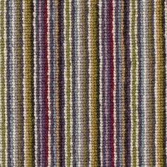 Buy Plum/Green Crucial Trading Mississippi Broadloom Carpet from our Carpets range at John Lewis & Partners. Free Delivery on orders over Striped Carpet Stairs, Striped Carpets, Carpet Staircase, Patterned Carpet, Wall Carpet, Carpet Flooring, Grey Carpet Bedroom, Gray Carpet, Carpet Colors