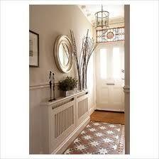 Hallway with tiles