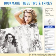 Photoshop & Elements Tips and Tutorials - www.colorvaleactions.com #photography #photoshop #elements